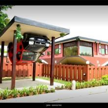 Rumah Terbalik Tamparuli (Tamparuli Upside Down House)